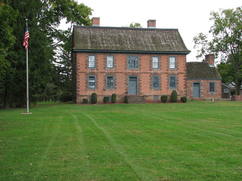 View of the Dey Mansion