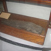 The piece of wood from the keel of Congress