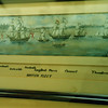 Randle's view of the British ships at Valcour.