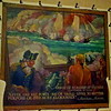 """Photo of the mural. Note the quote from Admiral Mahan: """"Never had any force - big or small - lived to better purpose or died more gloriously"""""""