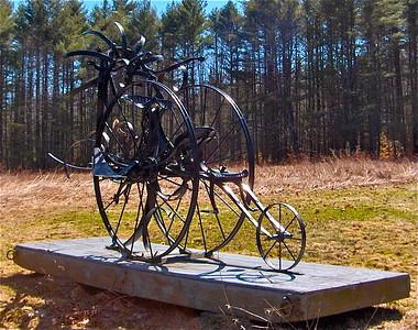 08.04.16 Field of Sculpture by Roger Majorowicz in Summer
