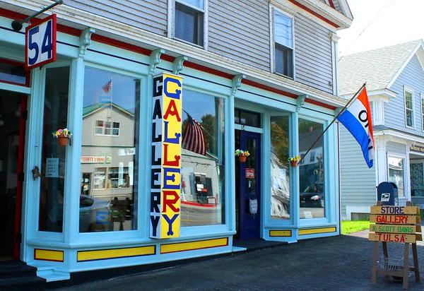 11.09.04 Edward Mackenzie Gallery in Richmond, Maine