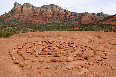 Medicine wheel, Sedona, Arizona