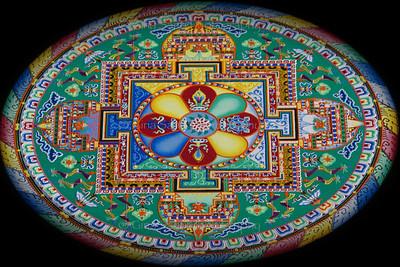 Tibetan mandala.