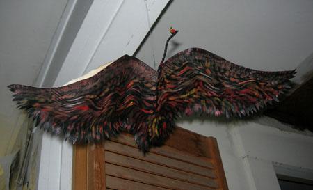 """Flying"" bird book"