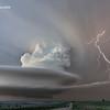 Supercell Lightning – Custer County, Nebraska – May 26, 2013