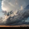 Mangum Storm at Dusk
