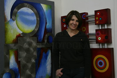 A Brazilian artist who lived in the Atlanta, Ga. area and became a friend of mine. I was blessed with the opportunity to photograph her and her work.  Photography By: Lloyd R. Kenney III © 2008, All Rights Reserved. Contact Info: LloydKenneyiii@Gmail.com