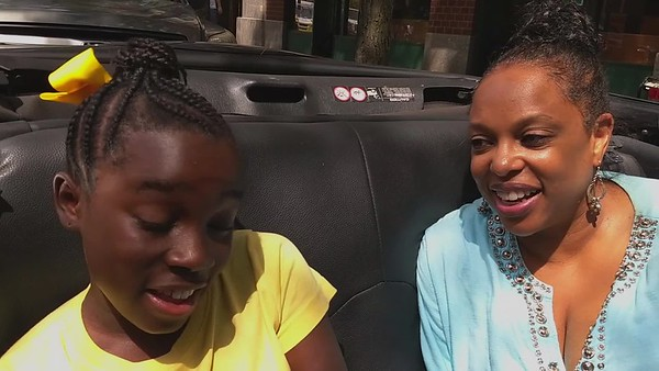 CC Minton Interview at Tribeca Wholefoods -  Mikaila Ulmer of Mikaila and the Bees lemonade products By Gregory Burrus