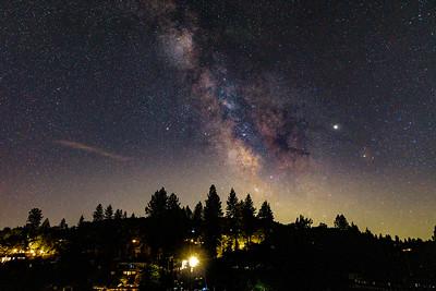 Milky Way over Lake Wildwood