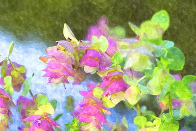flowers à la artista