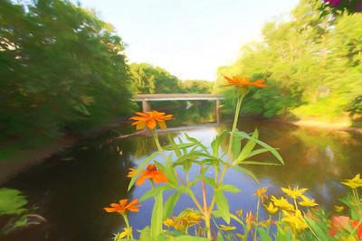 Impressionistic Paintings of the Bridge