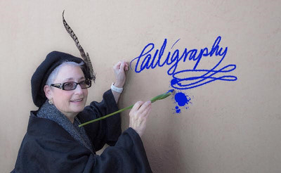 Painting on the wall with the  magic brush...photo by Beth Shibata, graphic effects by Lisa Chakrabarti