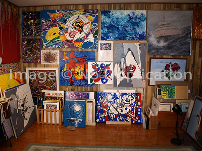 Contemporary Paintings Wall #2