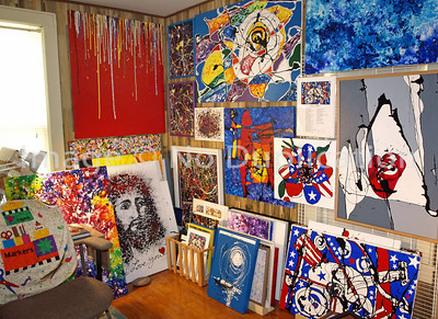 Contemporary Paintings Wall #1