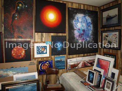 """""""Cosmic Art"""" Wall #1"""