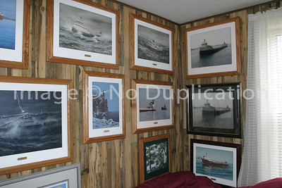 """This particular whole collection of """"The Wooden Gallery Presentation"""" framed Maritime Painting Prints is for sale . . . great for a serious private collector, a developer or real estate agency, an educational or medical facility, maritime museum or maritime-themed restaurant, hotel, motel.   Contact:  doris.starofthenorth@gmail.com"""