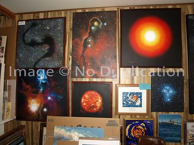 """""""Cosmic Art"""" Wall #2"""