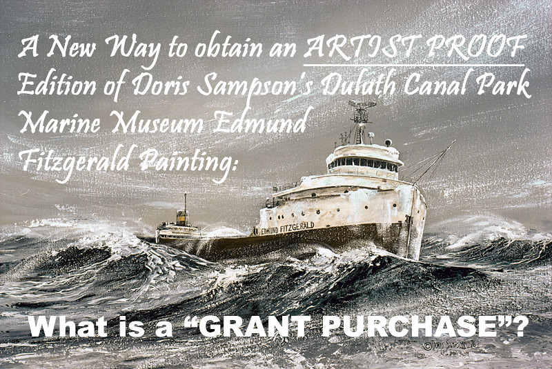 """INTRODUCTION TO """"GRANT PURCHASE"""" PRESENTATIONS--Only Available Direct from Artist, Doris Sampson"""