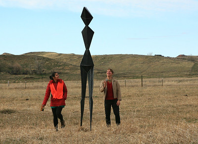 20 Sculpture by Paul Burn with Yaminay and Paul
