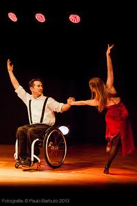 André George e Suzie Bianchi - Cia Circodança - Trixmix Cabaret - Junho 2013
