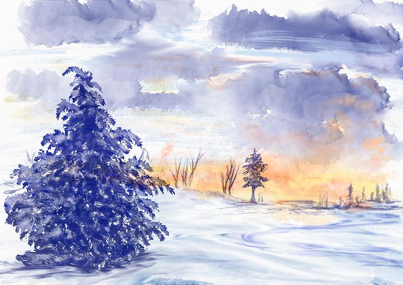 Winter storm approaching