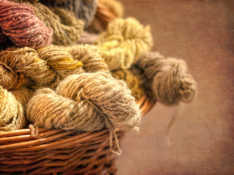 Yarn done the old fashioned way