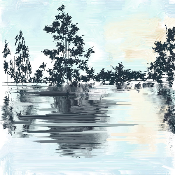 The Tree & The Water -  I drew this myself!!