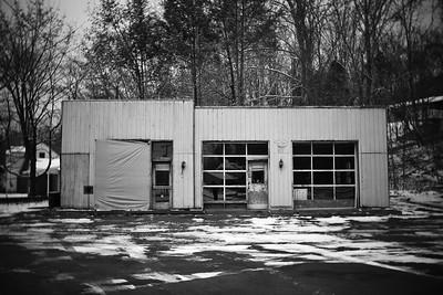 Abandoned Gas Station–––Columbia, NJ