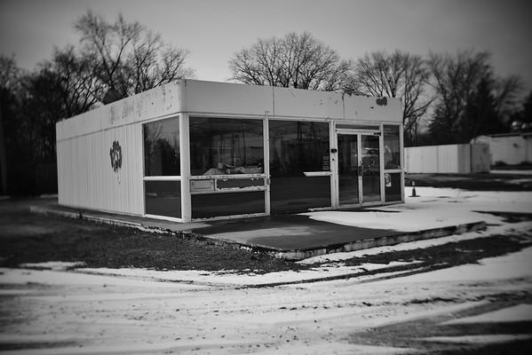 Abandoned Gas Station---Eagleville, PA