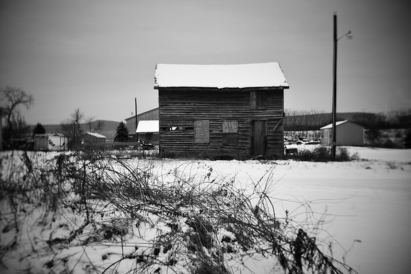 Weathered House---Bangor, PA