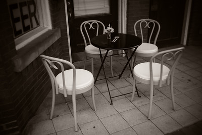 Chairs & Table---Saltsburg, PA