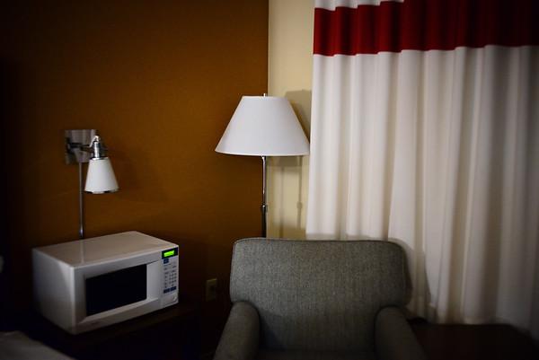Hotel Room---Scranton, PA