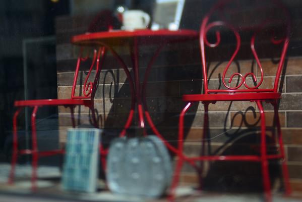 Red in the Window---Philadelphia, PA