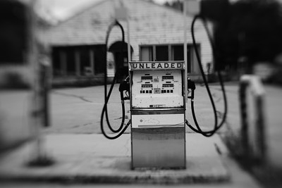 Old Gas Pump---Brownfield, Maine