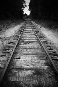 Tracks---Brownfield, Maine
