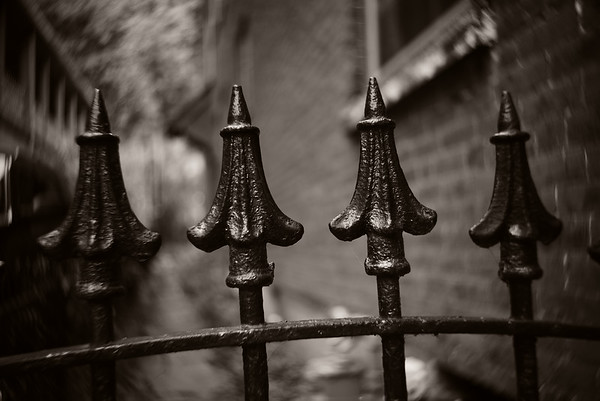 Iron Fence--Jim Thorpe, PA