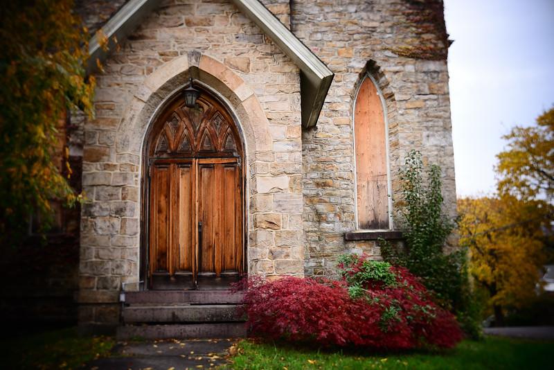 Abandoned Church--Jim Thorpe, PA