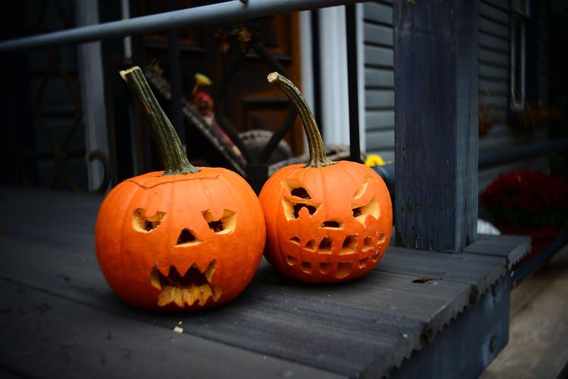 Pumpkins--Jim Thorpe, PA