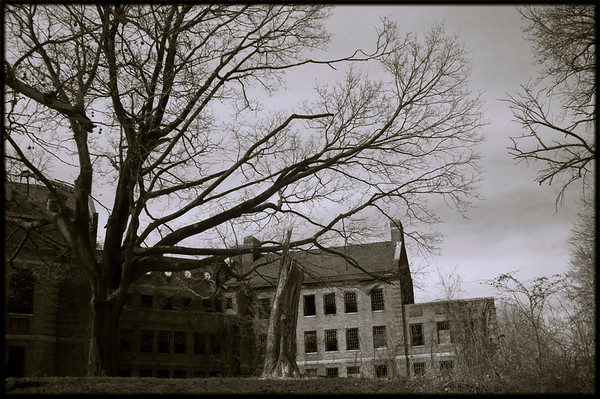 Abandoned Building, Norristown State Hospital