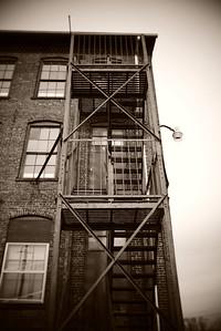 Fire Escape---Boonton, NJ