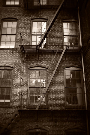 Fire Escape---Boonton, NJ