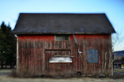 Weathered Red Barn---Bethlehem, PA