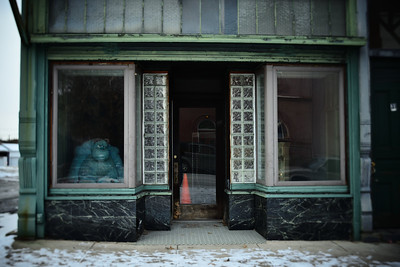 Abandoned Store Front---Ashley, PA