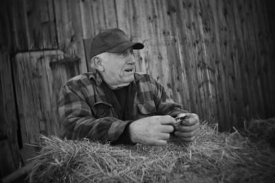 Leroy---Farmer, Truck Driver, Mechanic, Pilot at Abandoned Farm---Souderton, PA