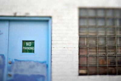 No Parking (close up)