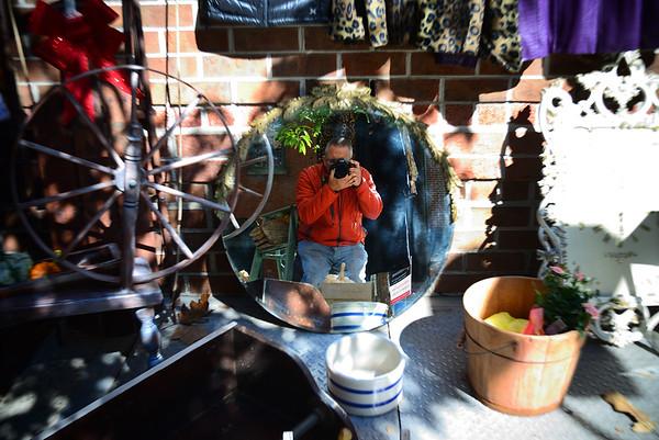 Selfie-Flea Market-Society Hill---Philadelphia, PA