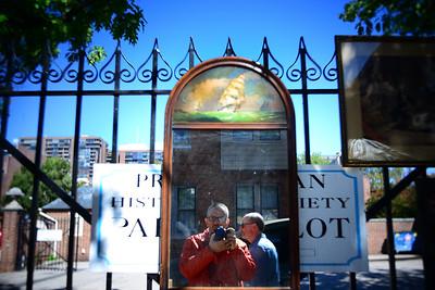 Selfie #2-Flea Market-Society Hill---Philadelphia, PA