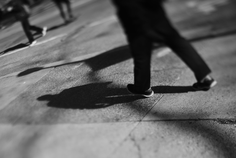 Walking---Philadelphia, PA