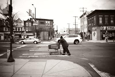 Shopping Cart---Philadelphia, PA
